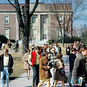 Slayter Hall in 1968