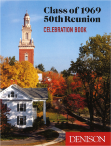 Image of the Cover of our 1969 Celebration Book