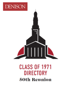 Class of 1971 Directory Cover
