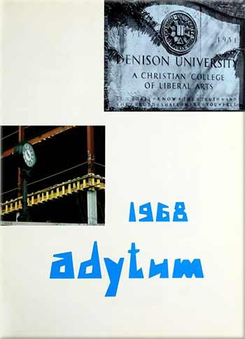 The cover ot the 1968 Adytum