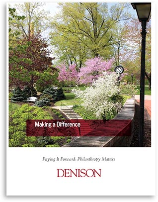 The cover to the Making a Difference brochure